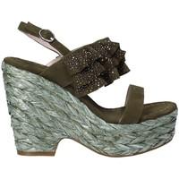 kengät Naiset Sandaalit ja avokkaat Alma En Pena V18350 Vihreä