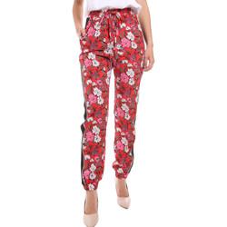 vaatteet Naiset Väljät housut / Haaremihousut Gaudi 011BD25032 Punainen