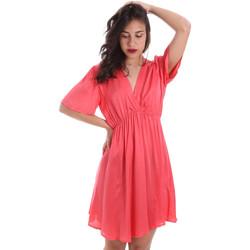 vaatteet Naiset Lyhyt mekko Gaudi 011FD15061 Vaaleanpunainen