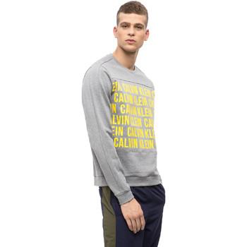 vaatteet Miehet Svetari Calvin Klein Jeans 00GMF8W320 Harmaa