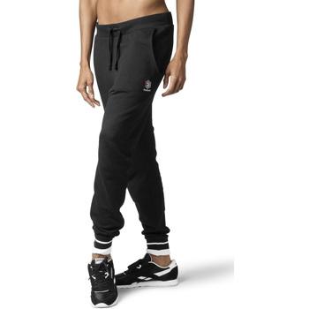vaatteet Naiset Verryttelyhousut Reebok Sport DH1410 Musta