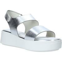 kengät Naiset Sandaalit ja avokkaat Impronte IL01527A Hopea