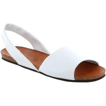 kengät Naiset Sandaalit ja avokkaat Grunland SB1623 Valkoinen