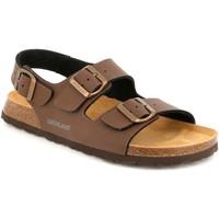 kengät Miehet Sandaalit ja avokkaat Grunland SB3645 Ruskea