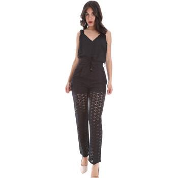 vaatteet Naiset Jumpsuits / Haalarit Gaudi 011FD25009 Musta