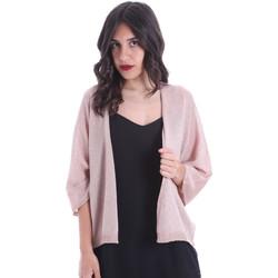 vaatteet Naiset Neuleet / Villatakit Gaudi 011FD53010 Vaaleanpunainen