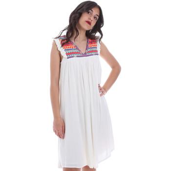 vaatteet Naiset Lyhyt mekko Gaudi 011BD15007 Beige