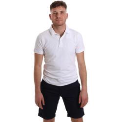 vaatteet Miehet Lyhythihainen poolopaita Sseinse ME1517SS Valkoinen