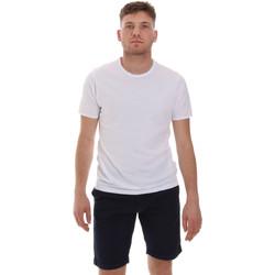 vaatteet Miehet Lyhythihainen t-paita Sseinse ME1566SS Valkoinen