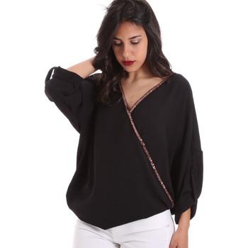 vaatteet Naiset Topit / Puserot Gaudi 011BD45026 Musta