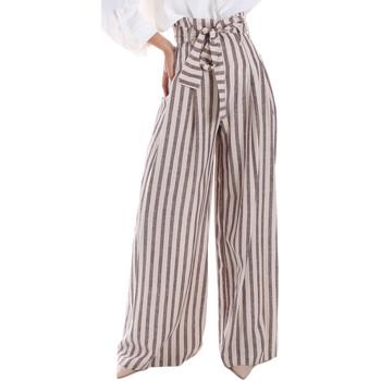 vaatteet Naiset Väljät housut / Haaremihousut Gaudi 011FD25034 Beige