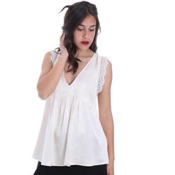 vaatteet Naiset Topit / Puserot Gaudi 011FD45026 Beige