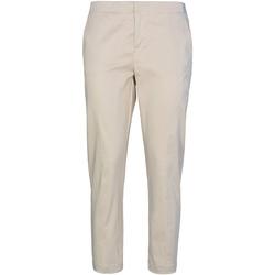 vaatteet Naiset Chino-housut / Porkkanahousut Café Noir JP232 Beige
