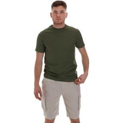 vaatteet Miehet Lyhythihainen t-paita Sseinse ME1548SS Vihreä