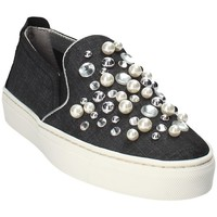 kengät Naiset Tennarit The Flexx B108_56 Musta