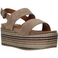 kengät Naiset Sandaalit ja avokkaat Onyx S20-SOX752 Ruskea
