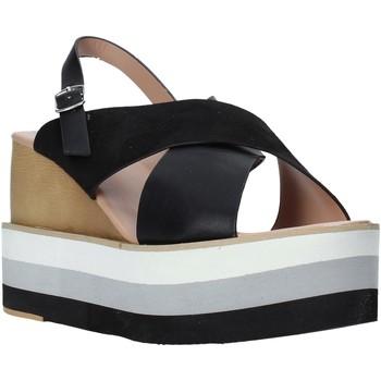kengät Naiset Sandaalit ja avokkaat Onyx S20-SOX758 Musta