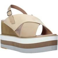 kengät Naiset Sandaalit ja avokkaat Onyx S20-SOX758 Beige