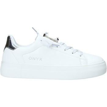 kengät Naiset Matalavartiset tennarit Onyx S20-SOX701 Hopea