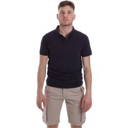 vaatteet Miehet Lyhythihainen poolopaita Sseinse ME1517SS Sininen