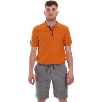 vaatteet Miehet Lyhythihainen poolopaita Sseinse ME1528SS Oranssi