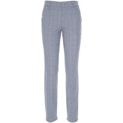 vaatteet Naiset Chino-housut / Porkkanahousut NeroGiardini P860180D Sininen