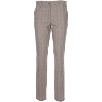 vaatteet Naiset Chino-housut / Porkkanahousut Nero Giardini P860180D Beige