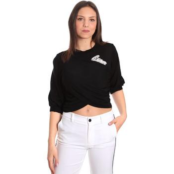 vaatteet Naiset Topit / Puserot Denny Rose 811DD50011 Musta