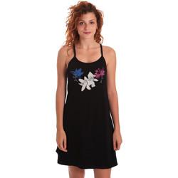 vaatteet Naiset Lyhyt mekko Key Up 5G30L 0001 Musta
