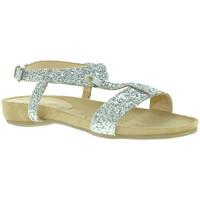 kengät Naiset Sandaalit ja avokkaat Mally 4681 Hopea