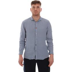 vaatteet Miehet Pitkähihainen paitapusero Sseinse CE538SS Sininen