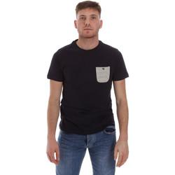 vaatteet Miehet Lyhythihainen t-paita Sseinse ME1588SS Sininen