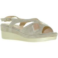 kengät Naiset Sandaalit ja avokkaat Melluso R70715 Harmaa
