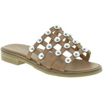 kengät Naiset Sandaalit Mally 6141 Ruskea