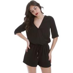 vaatteet Naiset Jumpsuits / Haalarit Gaudi 011BD25029 Musta