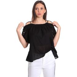 vaatteet Naiset Topit / Puserot Gaudi 811FD45011 Musta