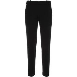 vaatteet Naiset Chino-housut / Porkkanahousut NeroGiardini P860140D Musta