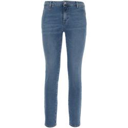 vaatteet Naiset Slim-farkut Nero Giardini P860221D Sininen