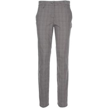 vaatteet Naiset Chino-housut / Porkkanahousut Nero Giardini P860180D Musta