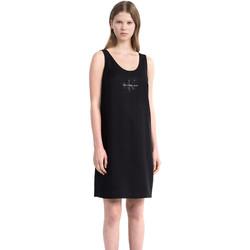 vaatteet Naiset Lyhyt mekko Calvin Klein Jeans J20J206937 Musta