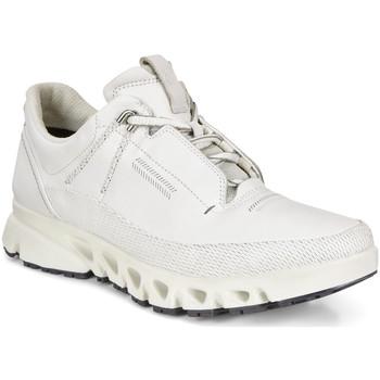 kengät Naiset Matalavartiset tennarit Ecco 88012301007 Valkoinen