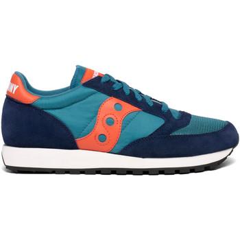kengät Miehet Matalavartiset tennarit Saucony S70368 Sininen