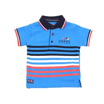 vaatteet Lapset Lyhythihainen poolopaita Losan 015-1037AL Sininen