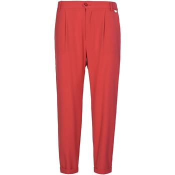 vaatteet Naiset Chino-housut / Porkkanahousut Café Noir JP228 Punainen