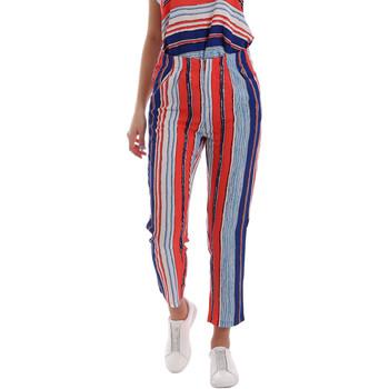 vaatteet Naiset Chino-housut / Porkkanahousut Gaudi 73BD25211 Sininen