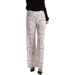 vaatteet Naiset Väljät housut / Haaremihousut Gaudi 73BD25224 Valkoinen
