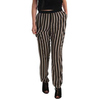 vaatteet Naiset Väljät housut / Haaremihousut Gaudi 73FD25202 Musta