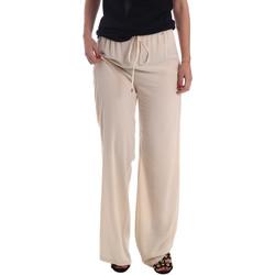 vaatteet Naiset Väljät housut / Haaremihousut Gaudi 73FD25232 Beige