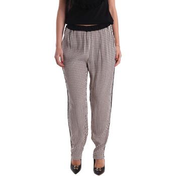vaatteet Naiset Väljät housut / Haaremihousut Gaudi 73FD25238 Musta