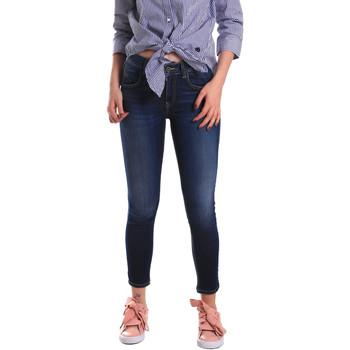 vaatteet Naiset Skinny-farkut Fornarina BE171L48D867VR Sininen